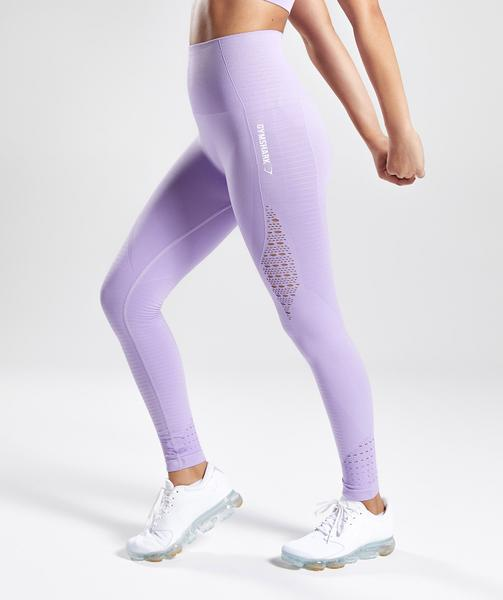 072c0fbe8a172 Gymshark Seamless Energy High Waisted Leggings - Pastel Lilac