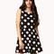 Oversized polka dot dress | forever21 - 2075720147