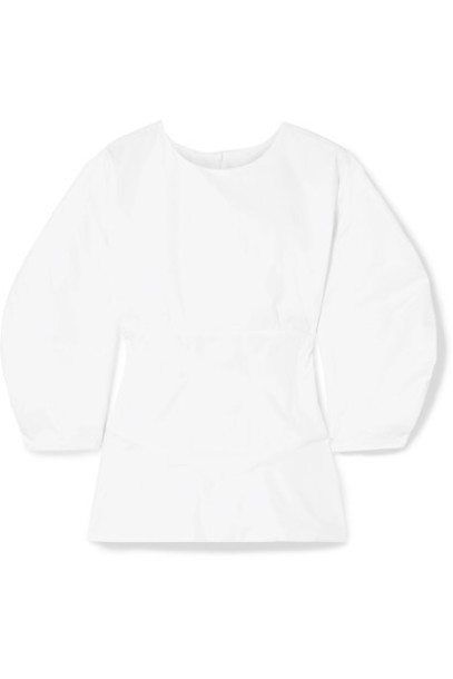 Paper London blouse white cotton top