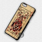 phone cover,queen,card,joker and harley,harley quinn,iphone cover,iphone case,iphone,iphone 6 case,iphone 5 case,iphone 4 case,iphone 5s,iphone 6 plus