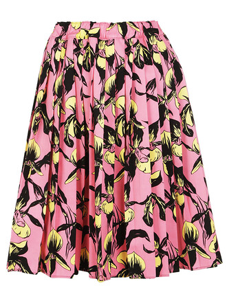 skirt pleated skirt pleated floral