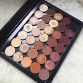 make-up,makeup palette,autumn make-up palette,eyeshadow palette,rose gold,burgundy