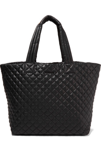 MZ Wallace shell quilted black bag