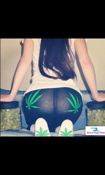 leggings marijuana
