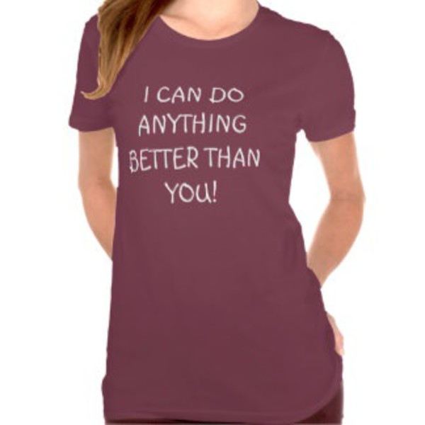 t-shirt top quote on it