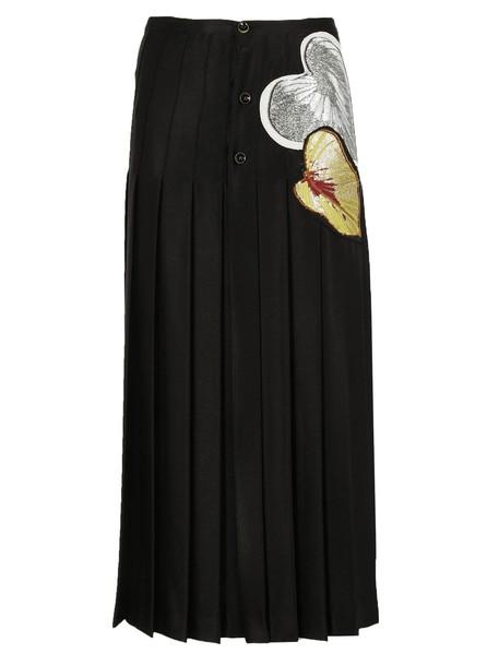 Marco De Vincenzo skirt pleated skirt pleated