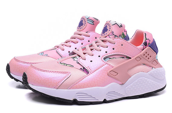 Nike Huarache Custom Flowers For Women  dff0e47af371