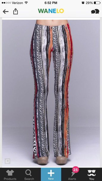 pants bell bottoms boho palazzo pants coachella