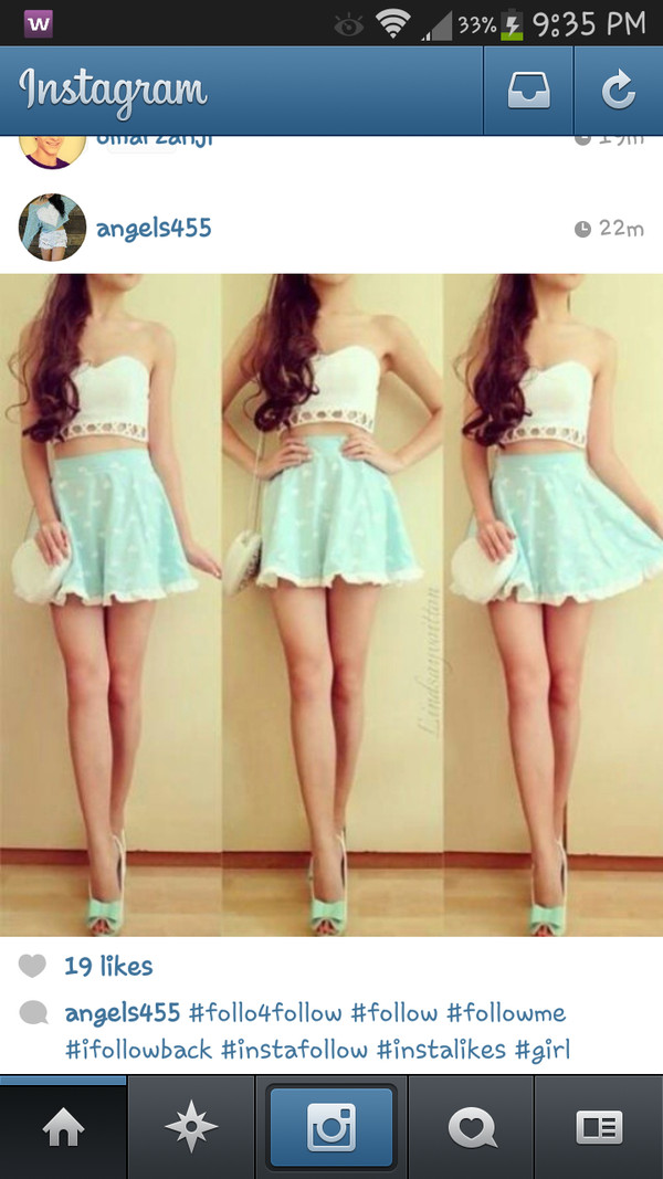 shirt skrit cute dress tank top shoes skirt