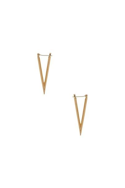 Luv AJ The Dagger Earrings in gold / metallic