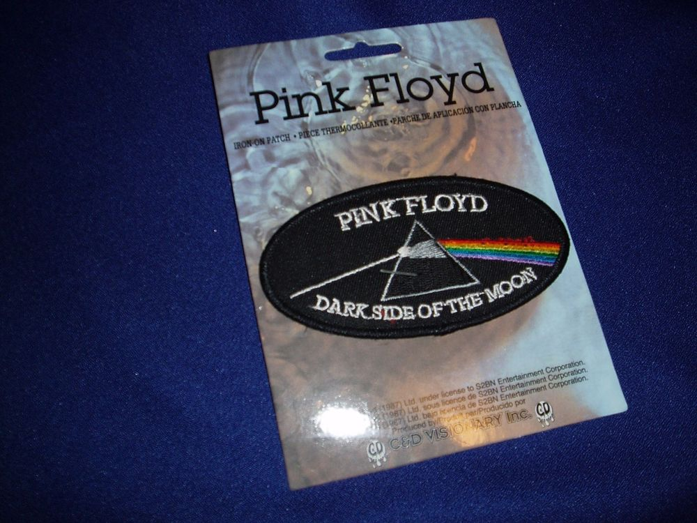 Pink Floyd Dark Side of The Moon Iron on Patch Badge New | eBay