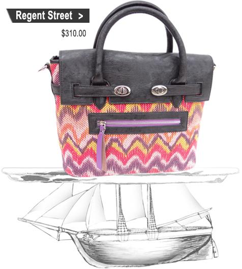 Designer Handbags | Reid Satchels | PLIA Designs