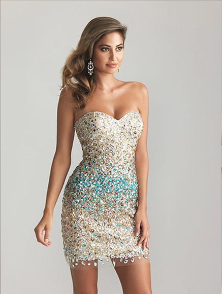gold glitter sparkle blue spakley bodycon dress party dress