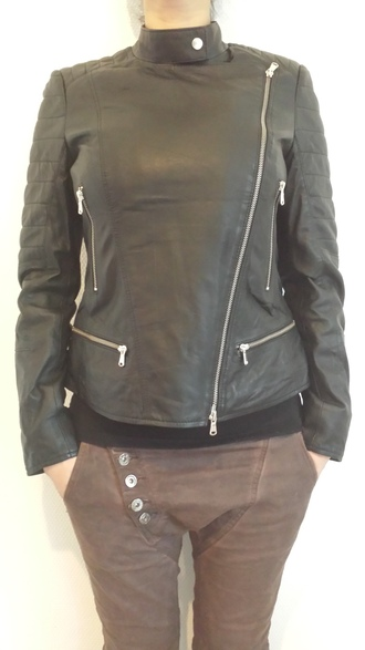 jacket given.dk given interteam leather collection black jacket mocca color sparkling jacket danish danish fashion tough life biker jacket style soo trill trendy