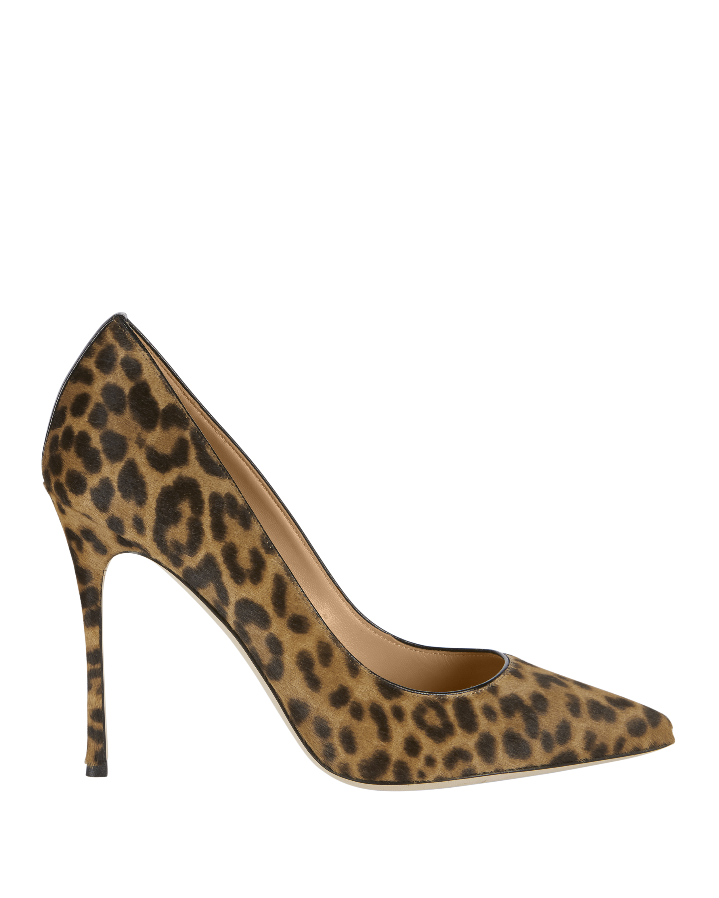 Godiva Haircalf Leopard Pumps