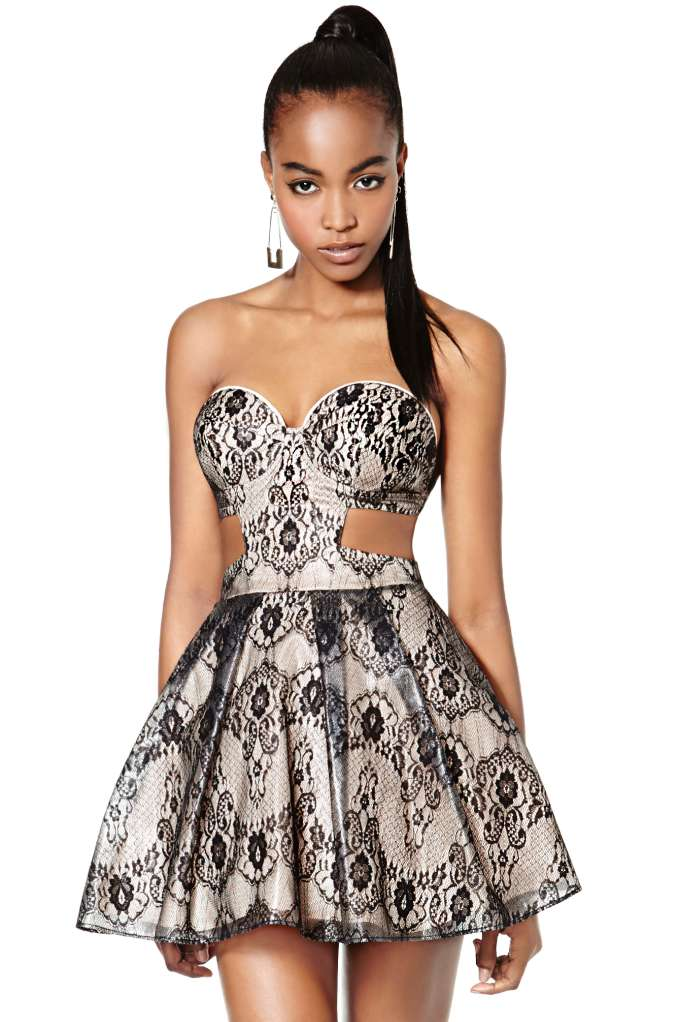Nasty Gal Collection Mischief Maker Lace Dress | Shop Anti Prom at Nasty Gal
