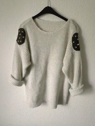 sweater studs knitwear