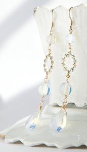 jewels,earrings,jewelry,long earrings,statement earrings,gold dipped,gold earrings,swarovski elements