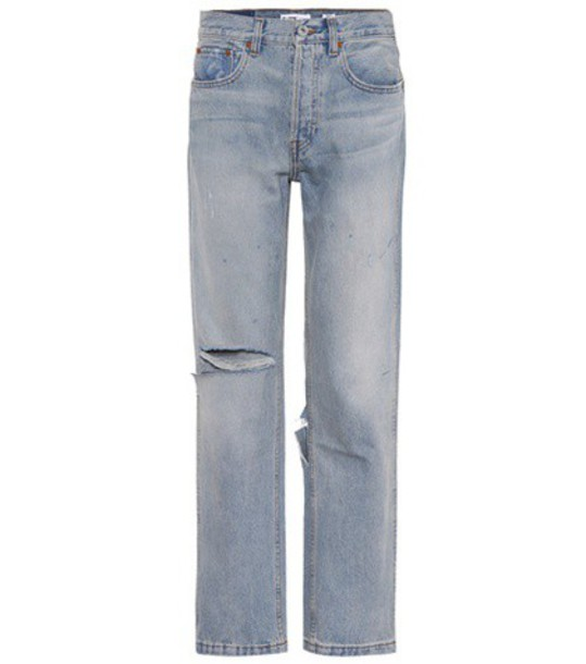 Re/Done jeans grunge blue