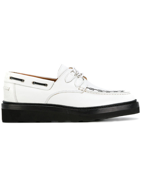 Weber Hodel Feder women shoes lace leather white