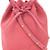 Mansur Gavriel - mini bucket bag - women - Suede - One Size, Pink/Purple, Suede