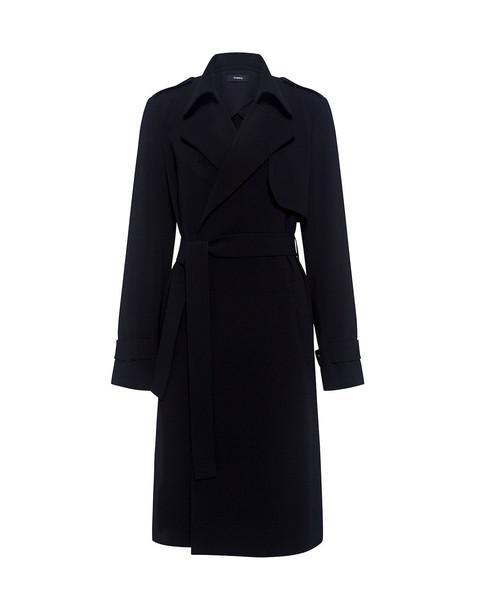 theory coat trench coat black