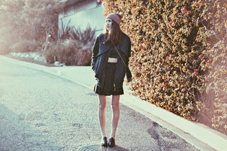 color me nana blogger black jacket