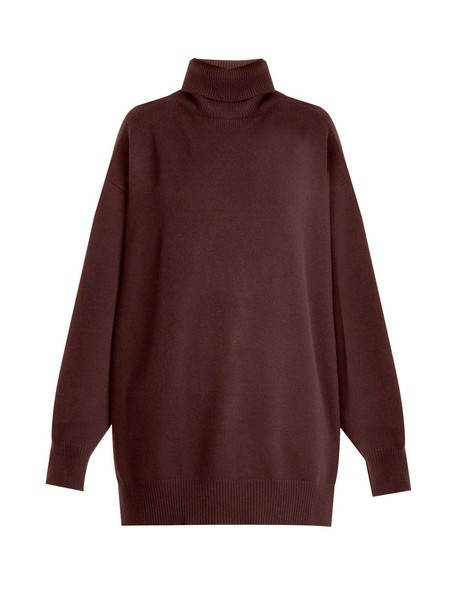 Raey sweater burgundy