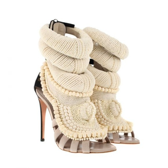 shoes giuseppe zanotti beige shoes perfection l