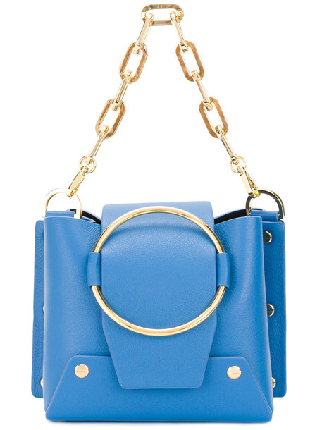 Yuzefi mini women bag leather blue