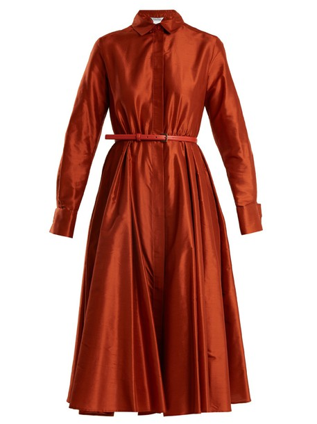 Max Mara dress orange