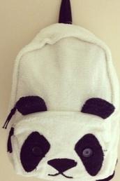 bag,beautiful bags,baggy,panda,panda bag