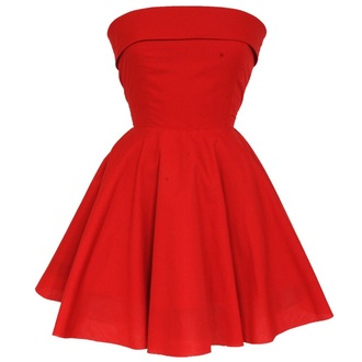 dress styleiconscloset red dress 50s style