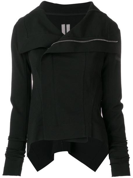 jacket women spandex cotton black