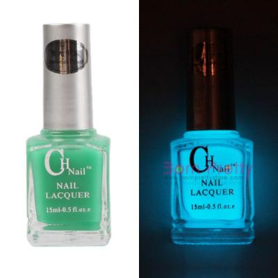 $3.99 15ml Fluorescent Neon Luminous Nail Art Polish varnish Glow in Dark #02 - BornPrettyStore.com
