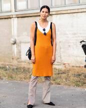 dress,checkered,pants,knitted dress,white crop tops,mini bag,sunglasses