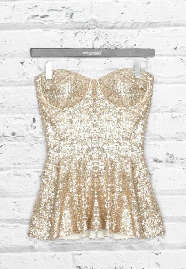 shirt gold glitter
