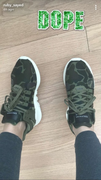 shoes equipment brand army green