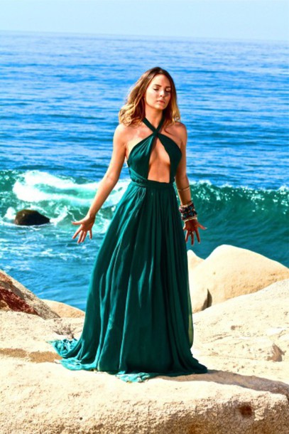 dress green belinda green dress long dress prom dress cute dress