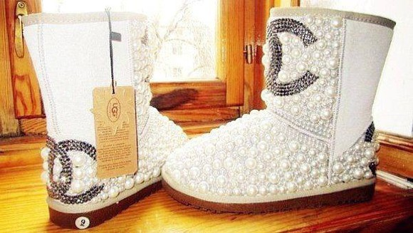 pearls boots ugg boots