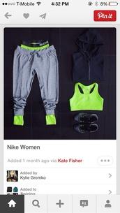 pants,nike sweatpants,sporty,nike,sports leggings