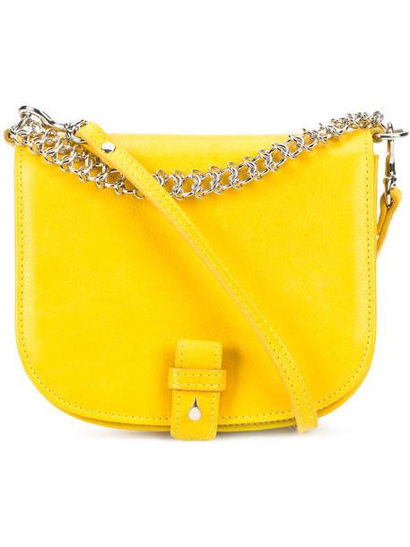 Little Liffner women bag crossbody bag yellow orange
