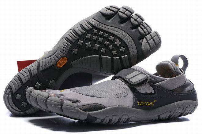 vibram five fingers treksport grey men shoes