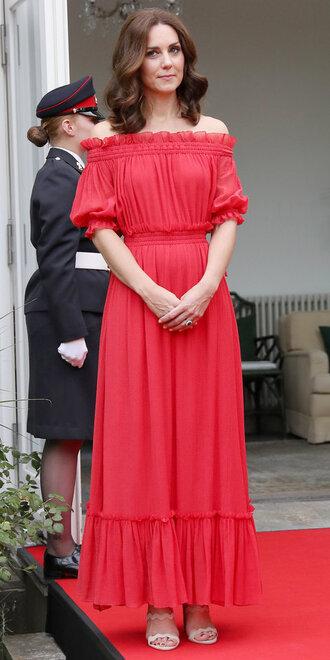 dress red dress red off the shoulder maxi dress kate middleton boho boho dress