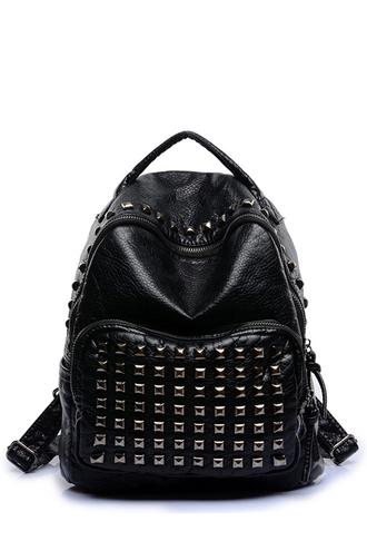 bag zaful studs alternative rock punk girl hipster goth girly dope leather jacket studded