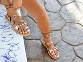 shoes,sandals,gold sandals,flat sandals,gold flat sandals,gladiators,greek sandals