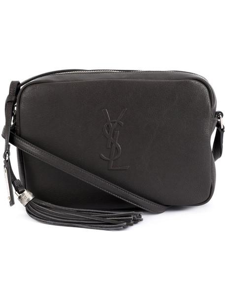 Saint Laurent women bag suede grey