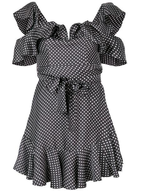 Zimmermann dress strappy dress strappy women draped silk brown