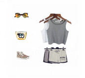 tank top,top,women t shirts,summer,summer outfits,summer top,shorts,grey t-shirt,sunglasses,round sunglasses,bags and purses,gold,student,fashion,style,short,short shorts,cute,cut off shorts,lifestyle,outfit,retro,hot,hot pants,beach,sportswear,running shoes,running,running shorts,streetwear,streetstyle,casual t-shirts,skirt,shirt,bra,brand,trendy,chic,amazing,tan,boho shirt,women tshirts,singlet,shoes,clothes,tumblr,sports bra,instagram,love,grey tank top,vintage,tap dance