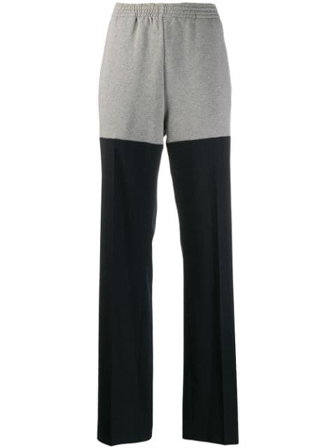 Mm6 Maison Margiela Track Pinstripe Tailored Trousers - Farfetch